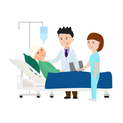 Pngtree hand drawn cartoon doctor nurse 4076569