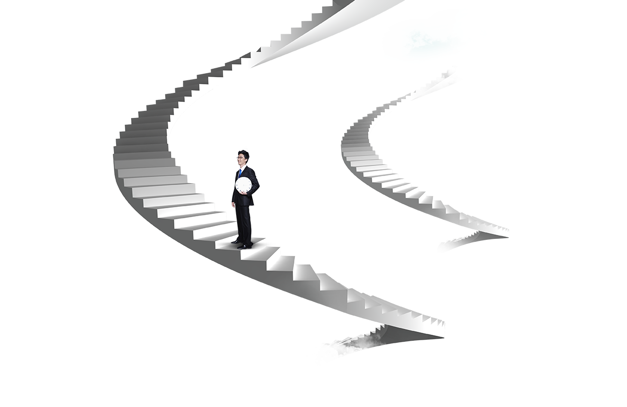 Stairs illustration business man on the ladder 15fba9e615284a05dd40006dbd53a85a